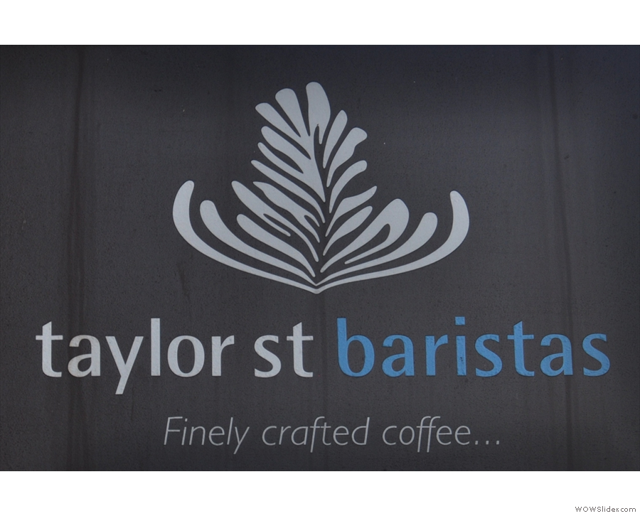 Taylor Street Baristas, Brighton, one of the most visually appealing coffee shops I know.