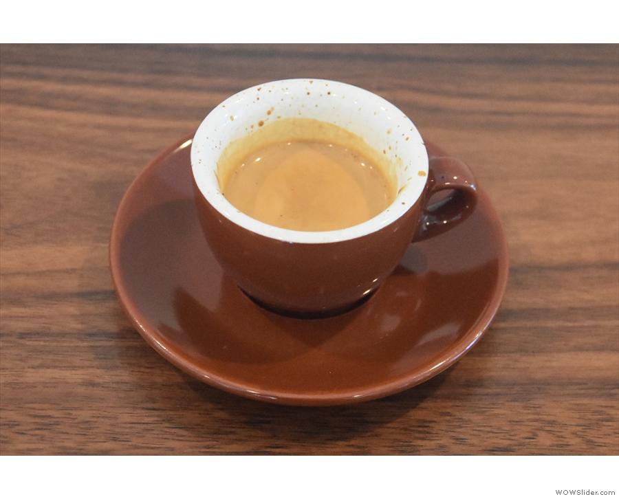 Next day, my friend Karen took us on an Oakland coffee tour, including RAWR Coffee Bar.