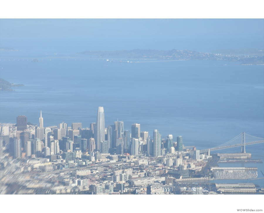... Financial District. You can see the Salesforce Tower & Transamerica Pyramid to the left.