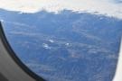 I've always loved flying over mountains!