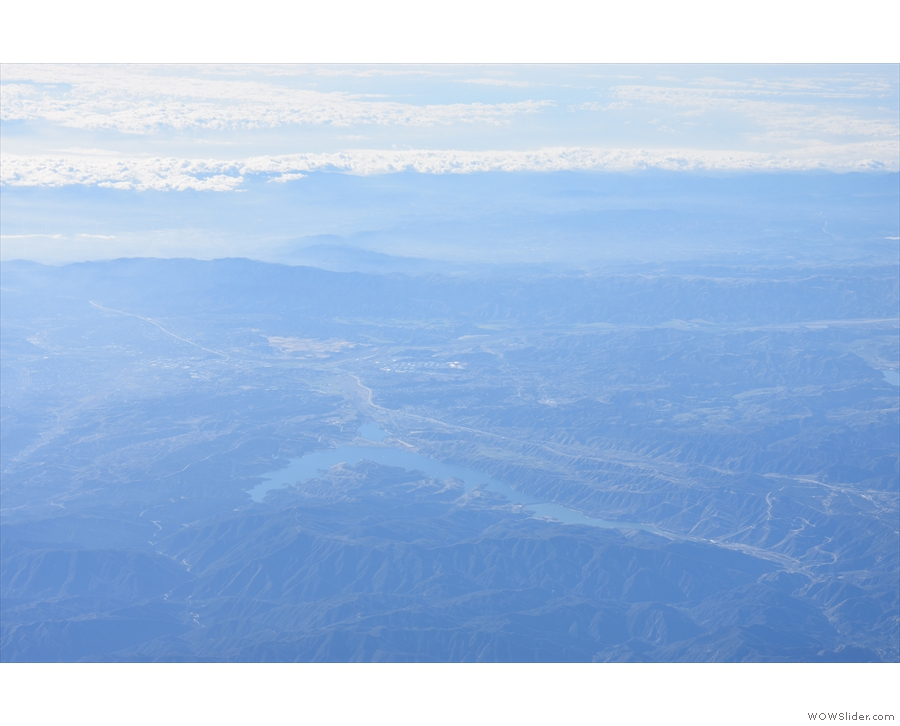 ... which would make this Castaic Lake, just north of Santa Clarita.