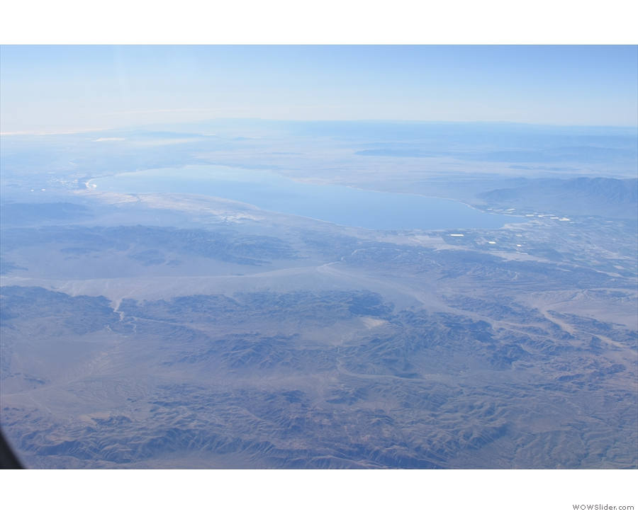 ... and we have another lake to identify. I think this one is Salton Sea.