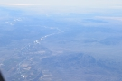 ... the Colorado River. I'm guessing we're flying south of I10, over Ripley or Palo Verde.