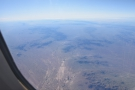 As quickly as it came, it was gone and we were back to flying over desert.