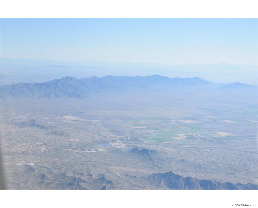 At last, a feature I absolutely recognise: the Estrella Mountains southwest of Phoenix.