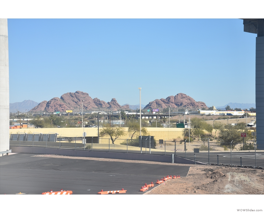 These two local landmarks are out by Phoenix Zoo.