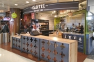 ... I made my usual pilgrimage to Cartel Coffee Lab on the other side of the terminal...