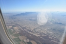 We were coming in almost directly over the Gila River...