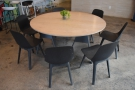 ... and with one final look at the Magnificent Seven (the round communal table).