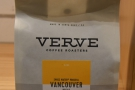 On my first visit, it was late in the evening, so I selected the Vancouver decaf...