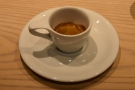 ... here's my espresso on its own...