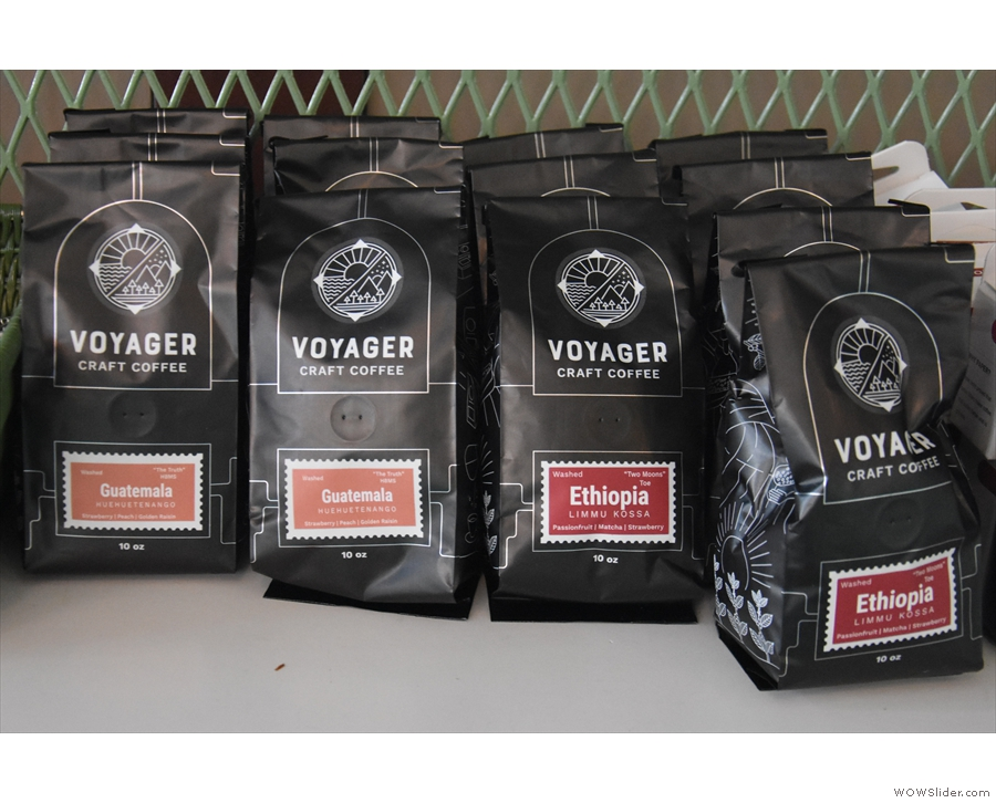 ... and continuing with the single-origins: here are the Guatemalan & Ethiopian...