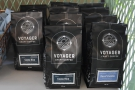 ... and here's the Costa Rican and the decaf from Zambia.