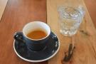 Before I left, I had the Costa Rica Finca Las Ventanas single-origin espresso, served with...