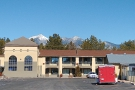 I left my motel in Flagstaff, complete with snow-capped mountains as a backdrop...