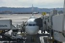 A closer look at my ride to Atlanta: an Airbus A321-200.