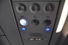 There's the usual array of overhead controls, including a light and an air vent.