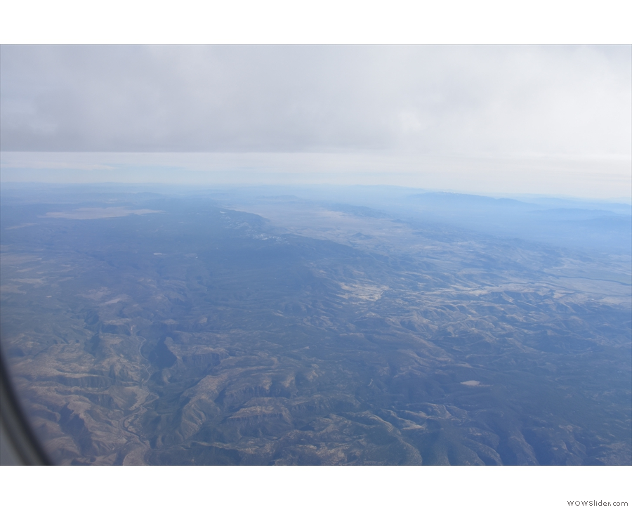 We're over north San Carlos Reservation, or south Fort Apache Reservation, which are...