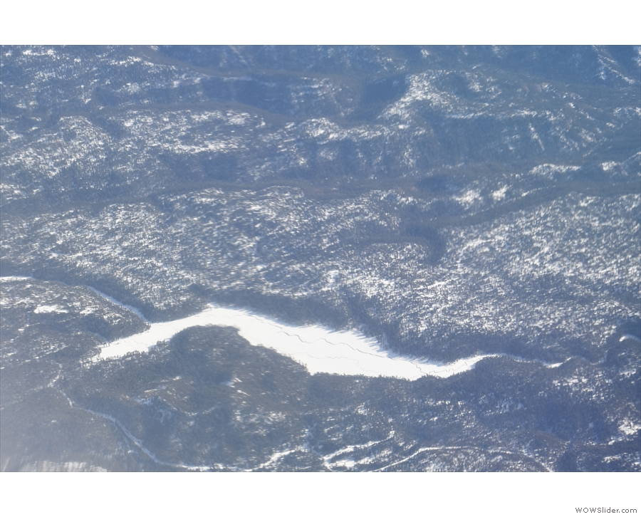 If anyone knows what this frozen lake is called, do let me know!