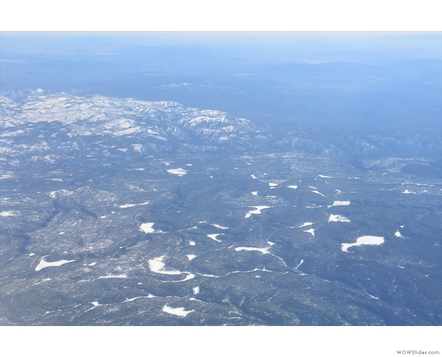 There were more magnificent views of snow capped mountains and frozen lakes as we...