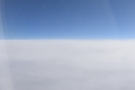 ... and then went straight over a large bank of cloud...