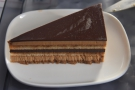 ... a vegetarian lasagne and this particularly fine chocolate cake.