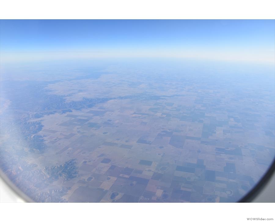 Northwest Texas is much like eastern New Mexico: fields, fields, fields. But wait!