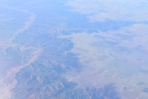 I love the canyon's folded countours and the way that the fields stop at the canyon edge.