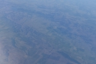 The land begins to get more hilly here and, for the first time on this flight...