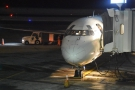 It was dark, so I didn't get any pictures of the flight itself. Instead, here's my plane.