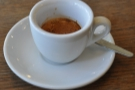 Shrewsbury Coffeehouse serving Has Bean espresso