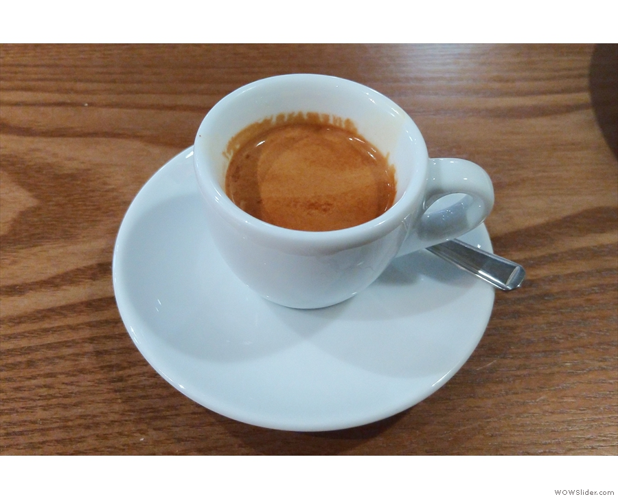 On my return last week, I had another espresso and was sorely tempted by the...
