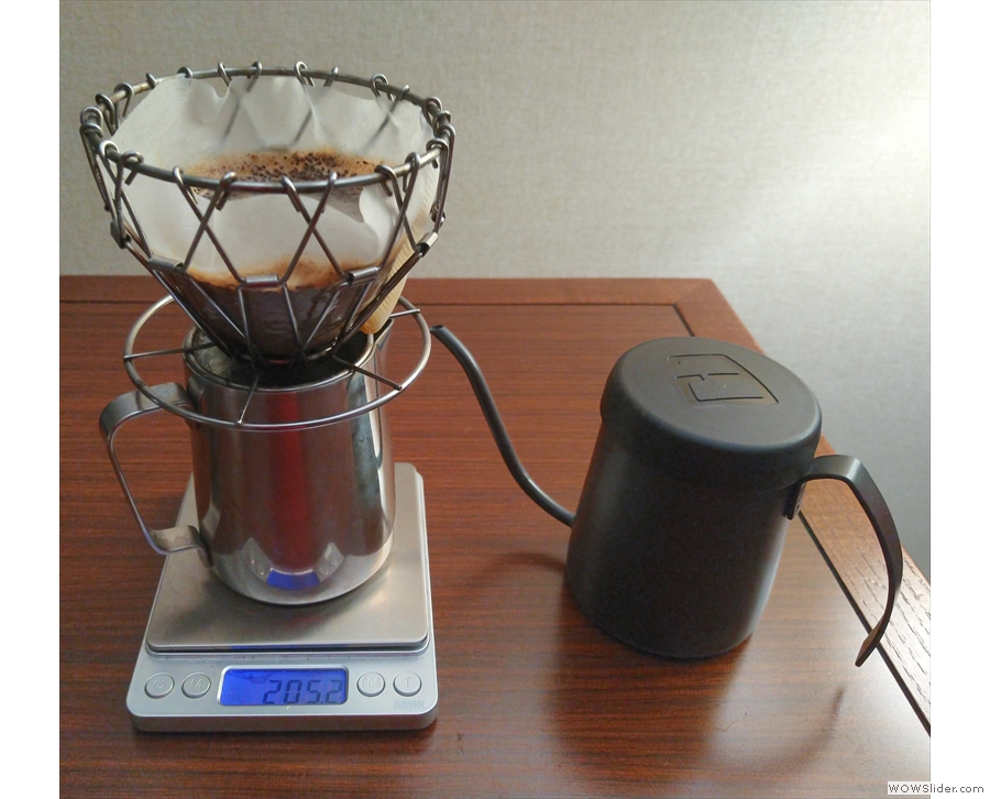 I started my trip in the Bay Area, where my travelling coffee kit came in useful in the hotel.
