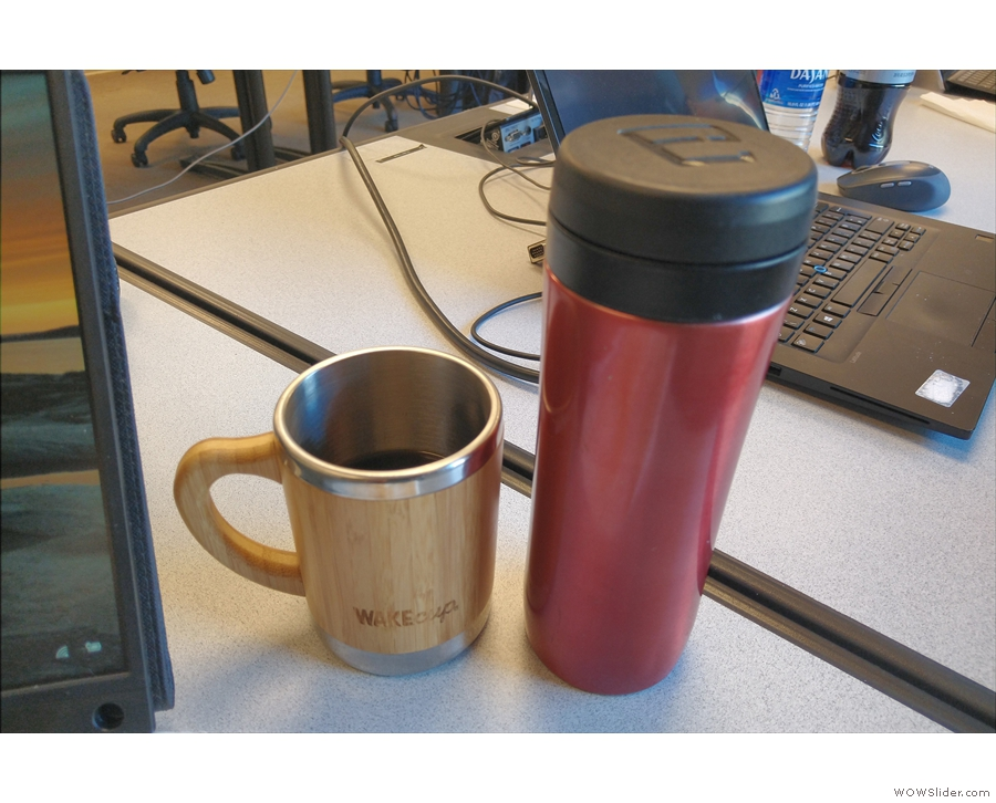 For the next week, my Travel Press was saving me from bad office coffee on a daily basis.