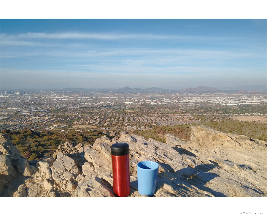 ... then returned along the Ridgeline Trail with some glorious views of Phoenix.