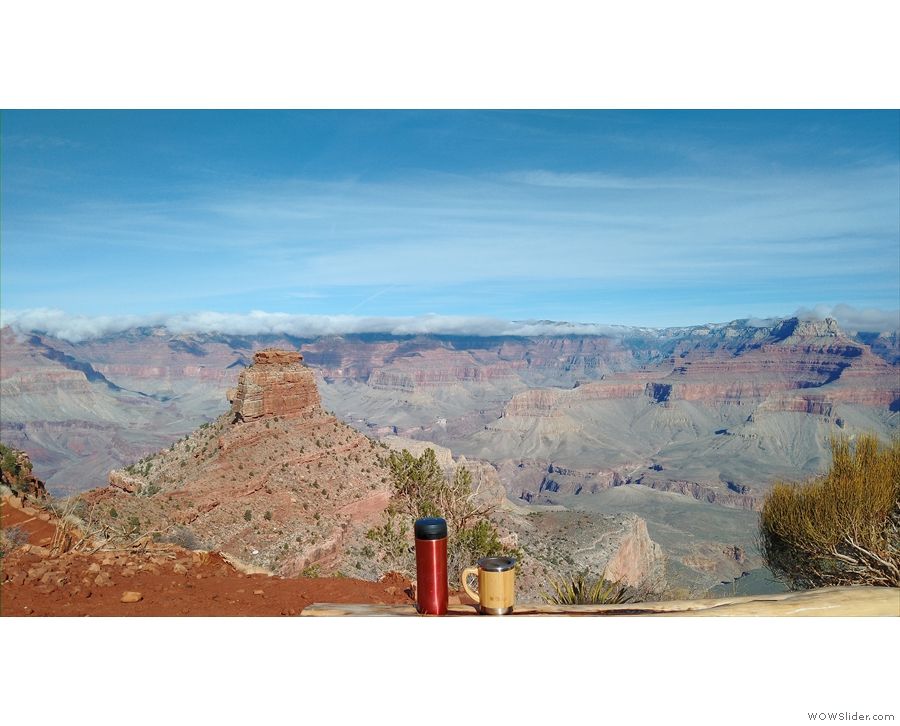 The following day, I returned to hike the Kaibab Trail again. What a view!!
