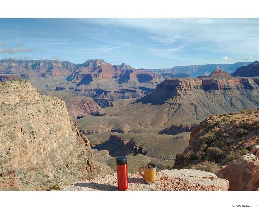 And finally, here's the view looking east (upstream) along the canyon.