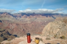 ... while this is the view across the canyon to the north rim.