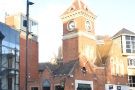Richmond's old Victorian-era fire station on The Square with its signature tower...