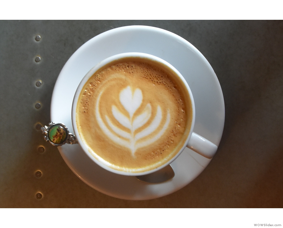... made with the Ue house-blend...