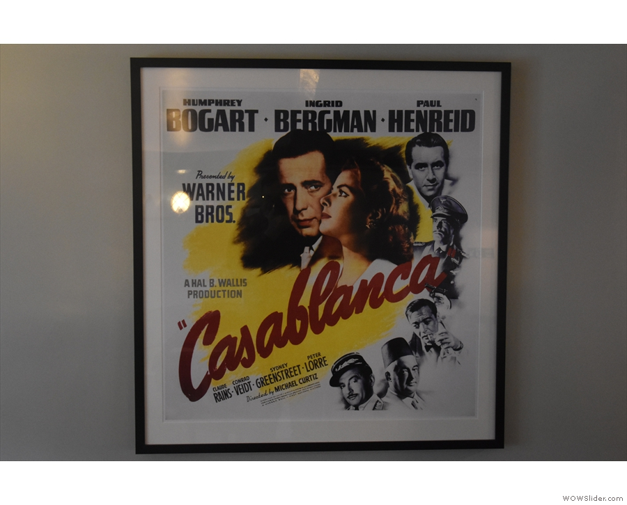 ... and my personal favourite, Casablanca.