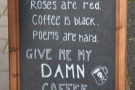 We visited the week after Valentine's but appreciated the sentiment!