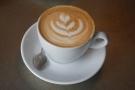 ... while I had the guest coffee, a washed El Salvador single-origin.