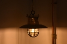 I was also keen on these lamps which hang from the ceiling...