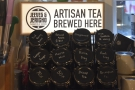 Of course, it's not just coffee, with a range of loose-leaf teas from Jeeves & Jericho.