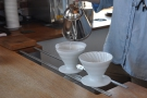 I followed it up with the same single-origin coffee as a pour-over...