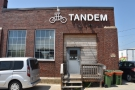 ... the Tandem Coffee Roastery. You can just see the Loring roaster through the window.