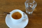 On my return four years later, I also had the single-origin espresso, while Amanda...