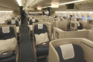For once I wasn't flying in the (almost empty) Club World cabin...