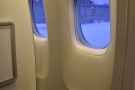 ... to get the window seat.